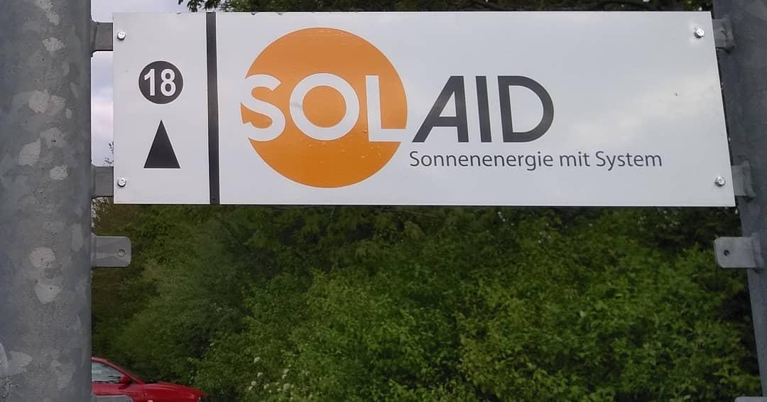 Schild SolAid